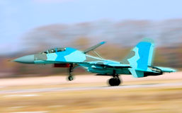 Fighter Su-34 royalty free stock images
