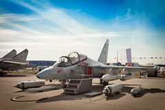 Fighter training aircraft Royalty Free Stock Image