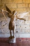 Fighting angel Stock Image