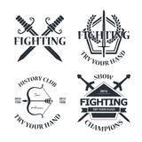 Fighting Stock Image