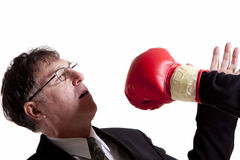Fighting business Stock Photography