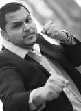 FIghting businessman Stock Photo