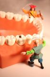 Fighting cavities concept #4 Stock Images