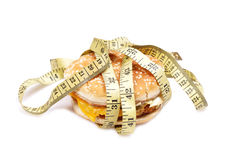 Fighting fat Royalty Free Stock Photo