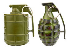 Fighting grenade Royalty Free Stock Photos