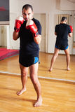 Fighting instructor Royalty Free Stock Image