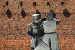 Fighting knights Royalty Free Stock Photography