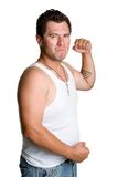 Fighting Man Royalty Free Stock Photography