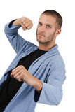 Fighting Pose Royalty Free Stock Photography