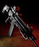 Fighting rifle Royalty Free Stock Image
