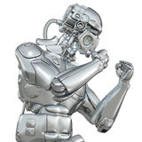 Fighting robot Stock Images