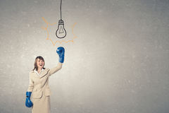 Fighting for success Stock Photos