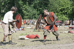 Fighting Vikings Stock Photos