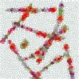 Figlarnie biały abstrakcjonistyczny wizerunek Zdjęcie Royalty Free