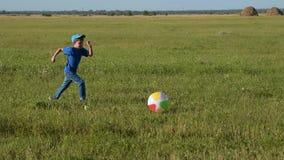 Figlarnie dziecko Outdoors zdjęcie wideo
