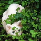 Figlarnie kota ogródu figurka Zdjęcia Stock