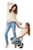 Figlarnie młode kobiety obrazy stock