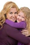Figlia della madre Fotografia Stock Libera da Diritti