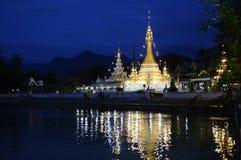 FIGLIO DELL'ASIA TAILANDIA MAE HONG Fotografie Stock