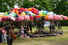 The 2015 Figment Festival 29 Royalty Free Stock Photography