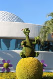 Figment topiary. At Epcot flower & Garden festival Royalty Free Stock Image