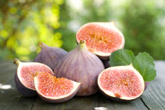 Figos frescos fotografia de stock