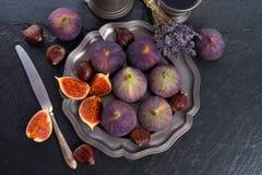 Figos frescos Fotos de Stock