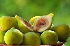 Figos maduros. Fotos de Stock Royalty Free