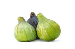 Figs. Some figs isolated on a white background Royalty Free Stock Image