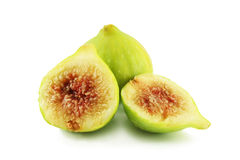 Figs. On a white background Stock Photography