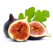 Figs. Isolated on white ground Stock Photo