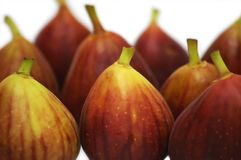Figs. Isolated on white background Stock Photo