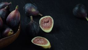 Figs Background stock video