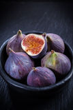 Figs in the bowl Royalty Free Stock Photos