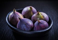Figs in the bowl Stock Images