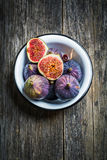 Figs in bowl Stock Image