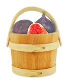 Figs in a bucket Stock Photos