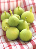 Figs on a cloth Royalty Free Stock Images