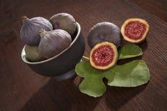 Figs. deliciosas. Foto de archivo
