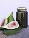 Figs details leaf preserve Stock Image