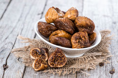 Figs (dried) Royalty Free Stock Photography