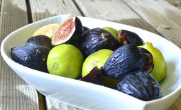 Figs fruit. Royalty Free Stock Photography