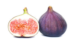 Figs Fruit on White Royalty Free Stock Image
