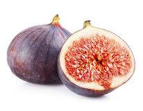 Figs fruits isolated Stock Image