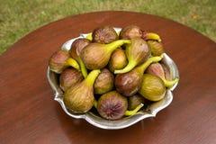 Figs in garden Royalty Free Stock Photos