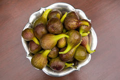 Figs in garden Royalty Free Stock Image