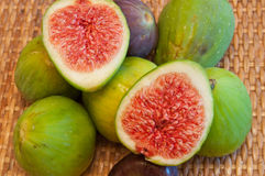Figs, halved fig Stock Photos