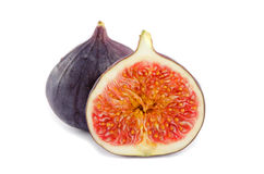 Figs isolate Royalty Free Stock Photo
