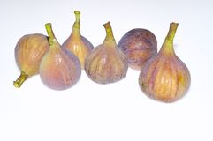 Figs isolated. Figs isolated on white background Stock Images