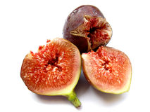 Figs-Isolated Stock Photo